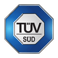 Logo TÜV SÜD in Hamburg